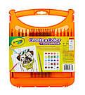 Набор в кейсе с цветными карандашами Crayola Create & Color, фото 4