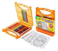 Набор в кейсе с цветными карандашами Crayola Create & Color