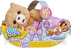 Интерактивный мишка обнимашка Little Live Pets Cozy Dozy Cubbles The Bear Moose