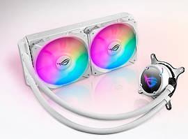 Система водяного охлаждения Asus ROG Strix LC 240 RGB White (ROG-STRIX-LC-240 RGB White),