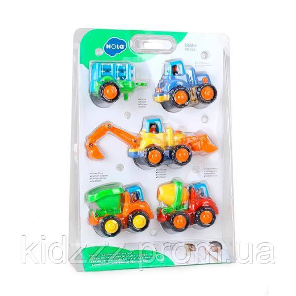 Іграшка Hola Toys Вантажівочка 4 шт. (326)