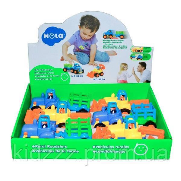 Іграшка Hola Toys Сільхозмашинка 6 шт. (326AB)