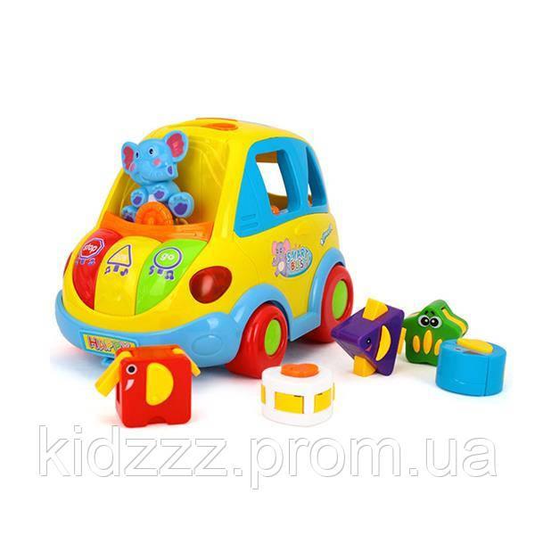 Іграшка-сортер Hola Toys Розумний автобус (896)