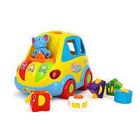 Іграшка-сортер Hola Toys Розумний автобус (896), фото 1