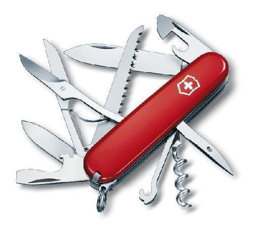 1.3713 Нож Victorinox Swiss Army Huntsman красный