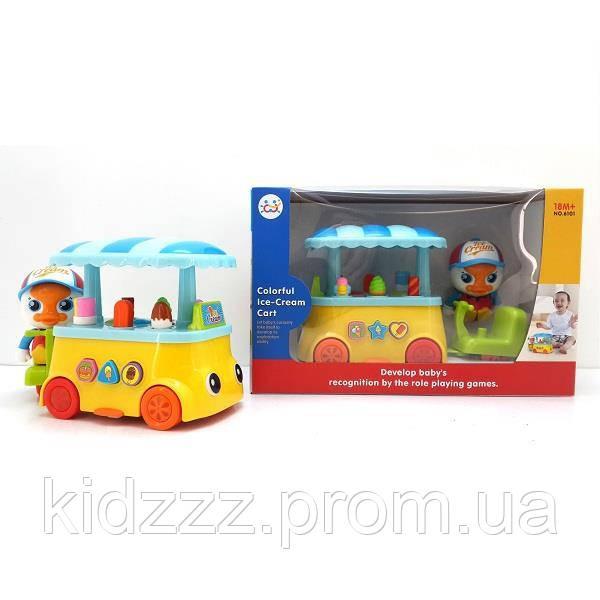 """Іграшка Huile Toys """"Візок із морозивом"""" (6101)"""