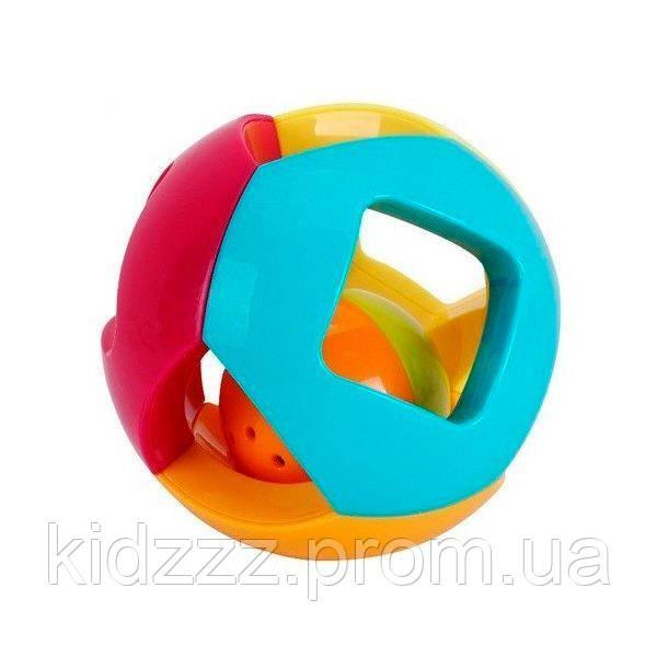 """Брязкальце Huile Toys """"Подвійна кулька"""" (939-5)"""