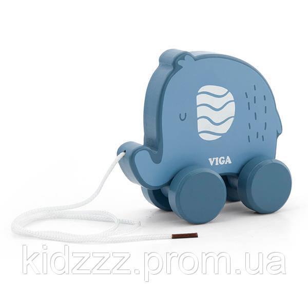 Каталка Viga Toys PolarB Слон (44004)