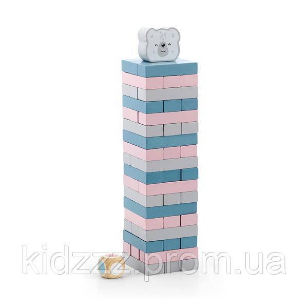 Гра Viga Toys PolarB Вежа з блоків (44011)