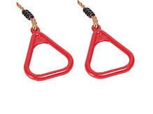 Кольца на веревках для детских площадок, акробатические кольца, фото 3