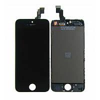 Дисплей iPhone 5C чёрный | LCD экран, тачскрин, стекло | Модуль в сборе