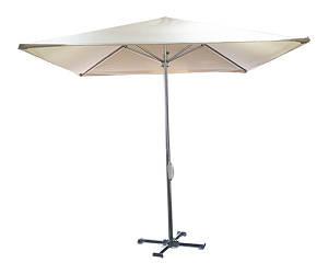 Зонт 2,5*2,5 молочный
