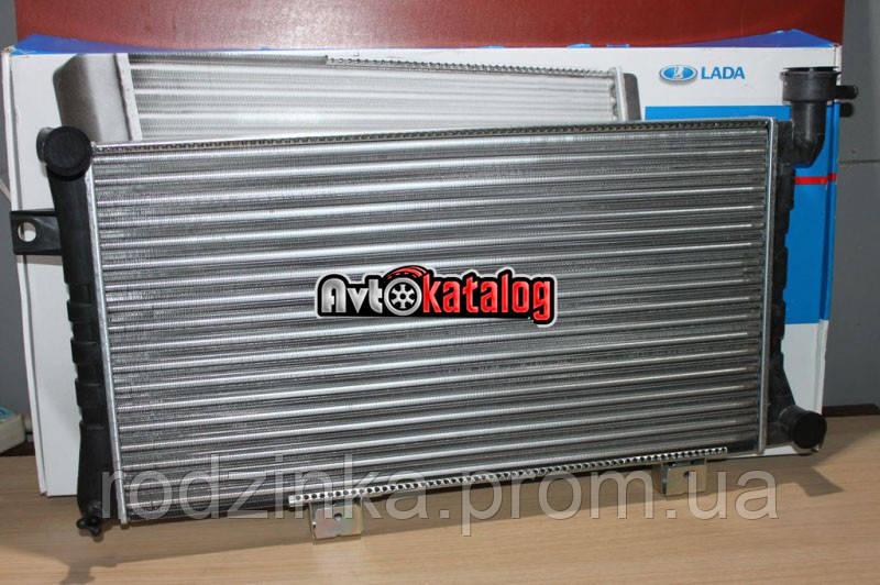 Радиатор охлаждения 21214 алюм инж Дааз