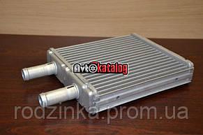 Радиатор отопителя 2170 алюм конд Halla (печка) Дааз