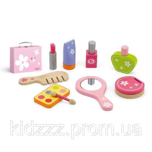 """Ігровий набір Viga Toys """"Набір для макіяжу"""" (50531)"""