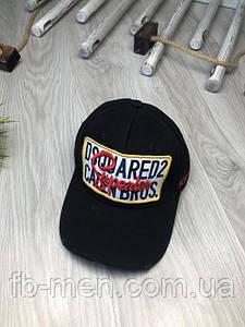 Кепка Dsquared | Бейсболка Дисквайред | Черная бейсболка Dsquared | Стильная мужская кепка Dsquared |