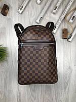 Рюкзак  Louis Vuitton | Стильный коричневый рюкзак  Louis Vuitton | Рюкзак портфель Луи Виттон | Рюкзак LV