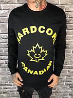 Батник Dsquared | Черный свитер D2 | Мужской теплый свитер Дисквайред | Дисквайред мужская толстовка