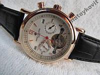 Механические часы Patek Philippe - белый циферблат с автоподзаводом, фото 1