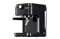 Кофеварка Ardesto ECM-E10B - 1633 Вт/рожковая/ резервуар 1л./ черный+металл