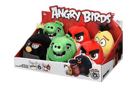 Мягкая игрушка Jazwares Angry Birds ANB Little Plush Бомб, фото 2