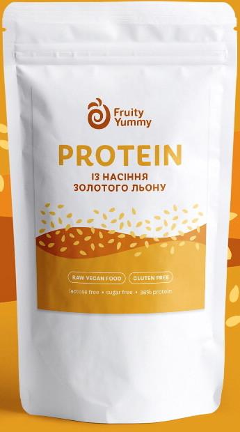 Протеин растительный Золотого льна, 250 г Fruity Yummy