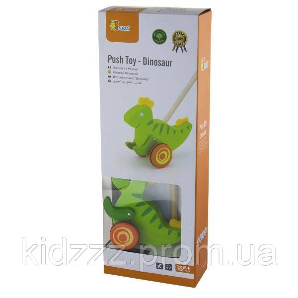"Іграшка-каталка Viga Toys ""Динозавр"" (50963)"