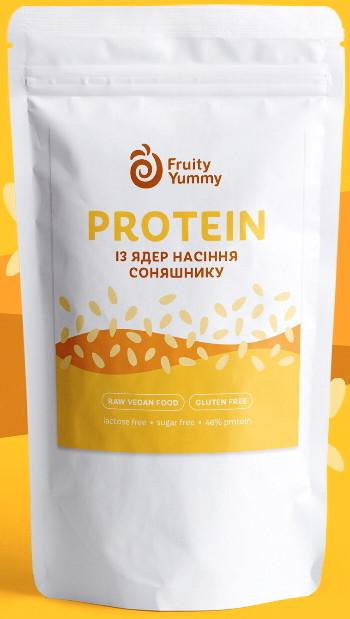 Протеин растительный Подсолнечника, 250 г Fruity Yummy