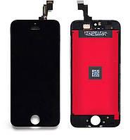 Дисплей iPhone SE чёрный | LCD экран, тачскрин, стекло | Модуль в сборе