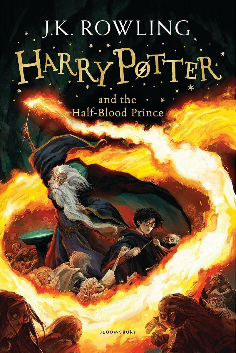 English*Ролинг (англ.,мяг) т.6 Гарри Поттер и принц полукровка Harry Potter 6 and the Half-Blood Prince