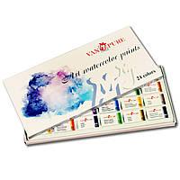 Набор акварельных красок 24 цвета Van Pure