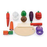 """Ігровий набір Viga Toys """"Овочі"""" (56291)"""