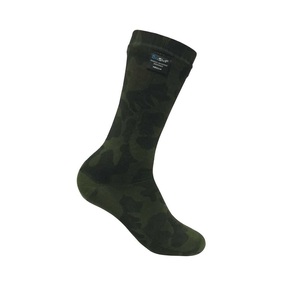 Носки водонепроницаемые Dexshell Waterproof Camouflage Socks M  камуфляж
