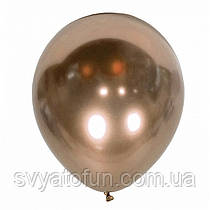 """Латексный воздушный шарик Хром Mirror Cooper, 12"""",  1 шт, Kalisan"""