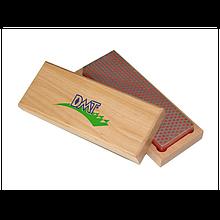 DMT 6 точильний камінь абразивний алмазний Whetstone ™ тонкий в дерев'яній коробці