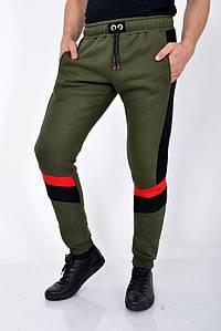 Мужские брюки спорт 119R012 (6) цвет Хаки 1109788078