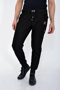 Мужские брюки спорт 119R011 (10) цвет Черный 1109788080