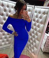 Платье с открытыми плечами, фото 7