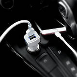 АЗУ Hoco Z23 Grand Style + Cable (Lightning) 2.4A 2USB, фото 6
