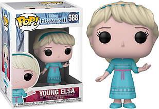 Фигурка Funko Pop Фанко Поп Холодное сердце Молодая Эльза Frozen Young Elsa 10 см F YE 588
