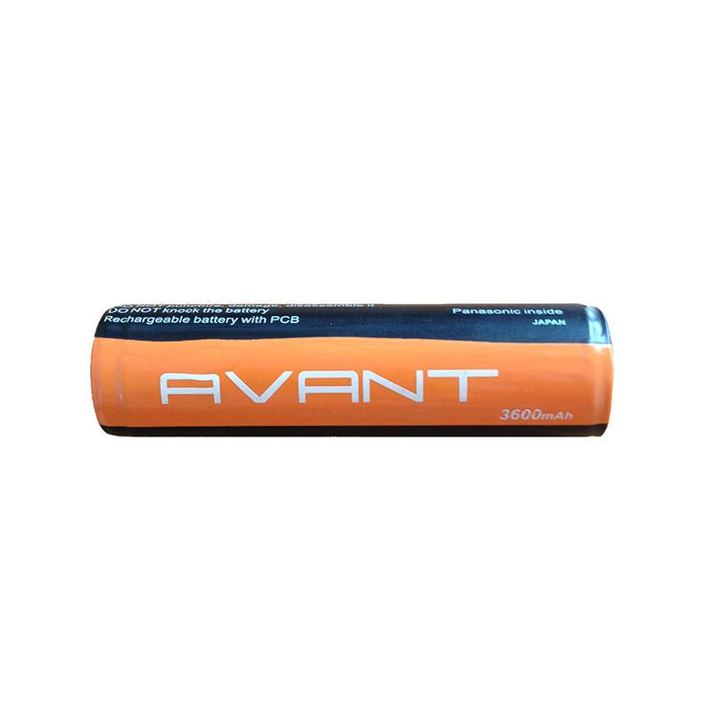 Акумулятор 18650 3600 mAh Avant с защитой