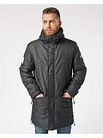 Мужская зимняя куртка-парка  Riccardo Long 3 Черный