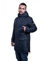 Мужская зимняя куртка-парка  Riccardo Long 3 Синий