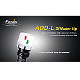 Дифузійний фільтр ТК41/ТК60 білий Fenix AOD-L, фото 5