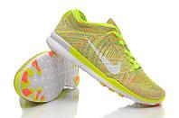 Кроссовки Nike Free TR Fit Flyknit Yellow