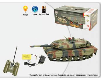 Радиоуправляемая модель танка HuanQ (инфракрасный луч, р/у, аккум, 2,4 GHz) 516-10A +ПОДАРОК