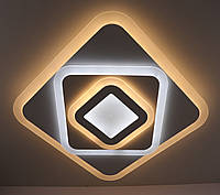 Светильник потолочный Led с пультом (5х48х48 см.) Матовый белый YR-001/480