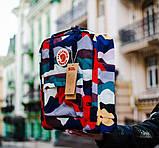 Стильный женский рюкзак-сумка канкен Fjallraven Kanken classic 16 л камуфляж, фото 2