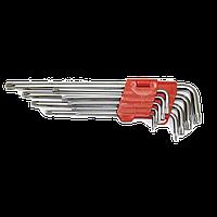 000010 Набор ключей L обр. Torx 9 ед. LA 511600