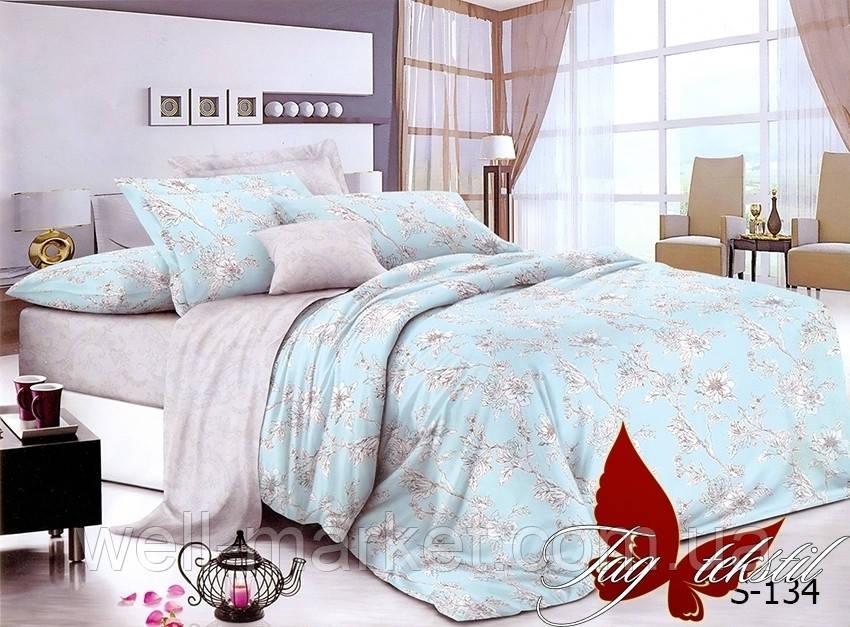 ТМ TAG Комплект постельного белья с компаньоном S-134